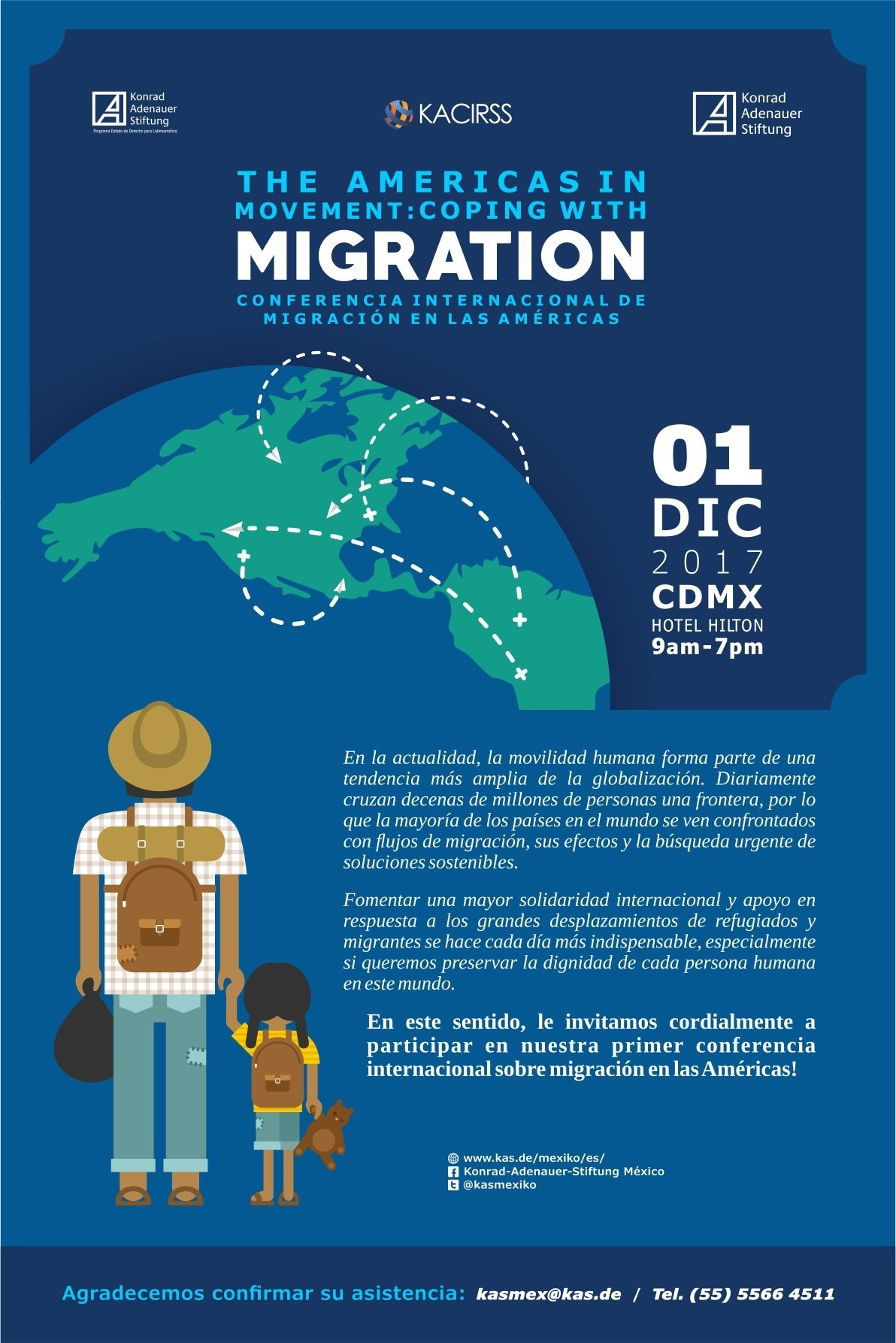The americas in movement coping with migration